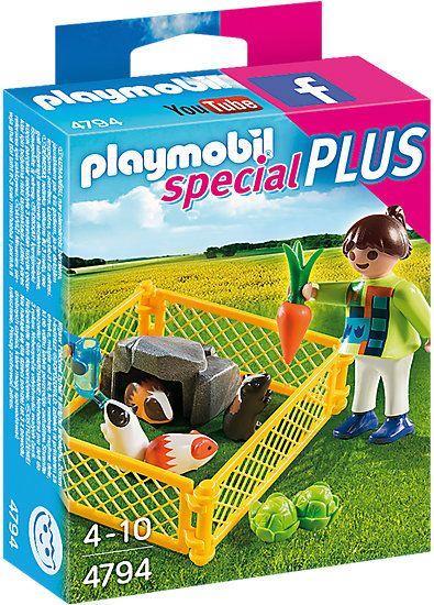 Playmobil-Tarcul cu porcusori de guineea