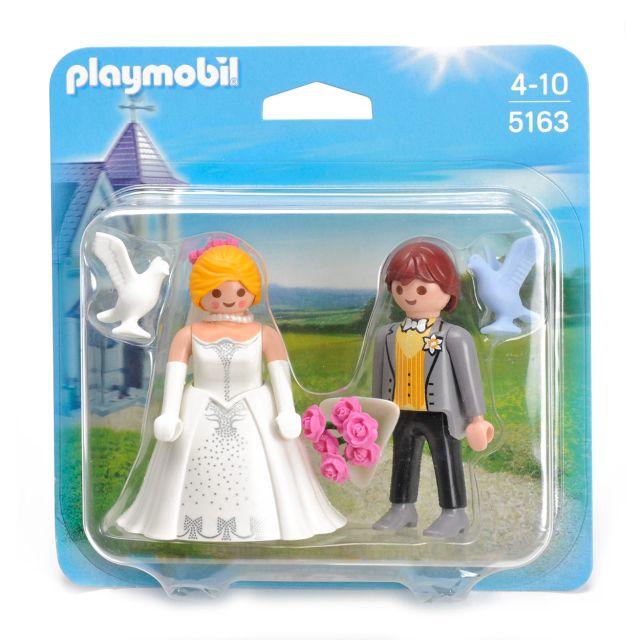 Playmobil-Set 2 figurine,cuplu de miri