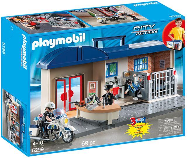 Playmobil-Statia mobila de politie