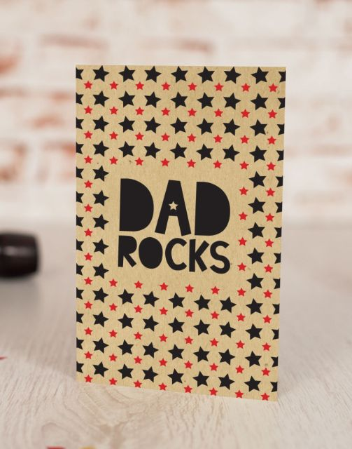 Felicitare Rocking Dad