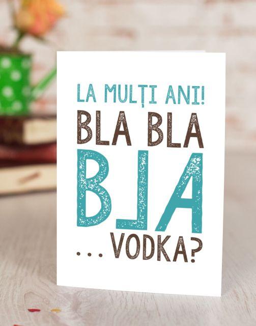 Felicitare Let's Drink