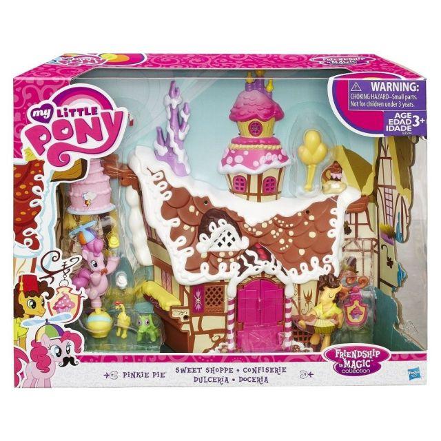 MLP-Figurina mini ponei,FIM,casa turta dulce