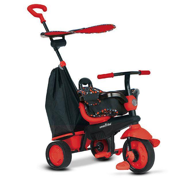 Smart Trike Delight,4in1,10M-36M,rosu