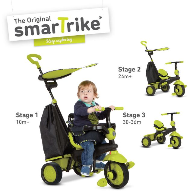 Smart Trike Delight,4in1,10M-36M,verde