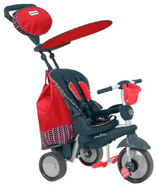 Smart Trike Splash,5in1,10M-36M,rosu