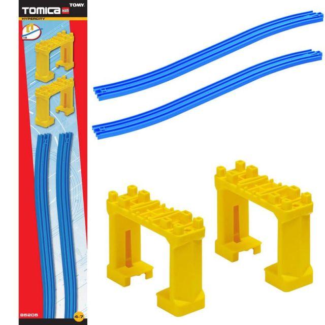 zzTOMICA Set sine inclinate, traverse pod