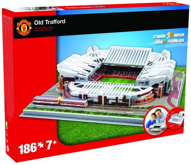 Puzzle 3D,stadion Manchester United,Nanostad