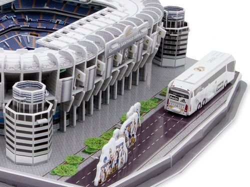 Puzzle 3D,stadion Real Madrid,Nanostad