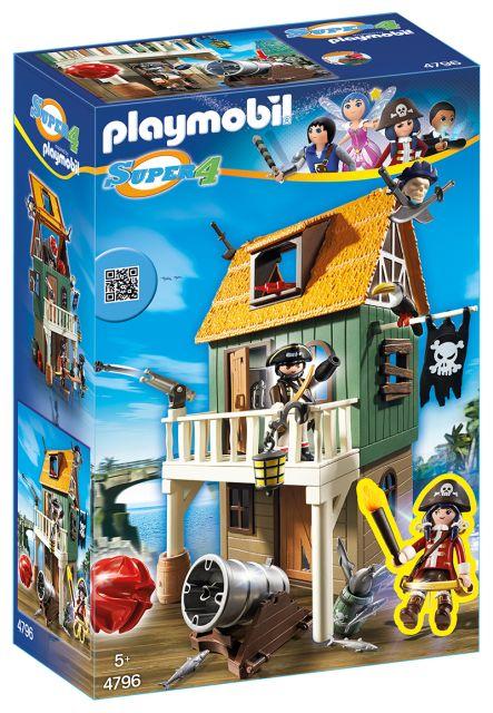 Playmobil-Fortul de camuflaj al piratilor