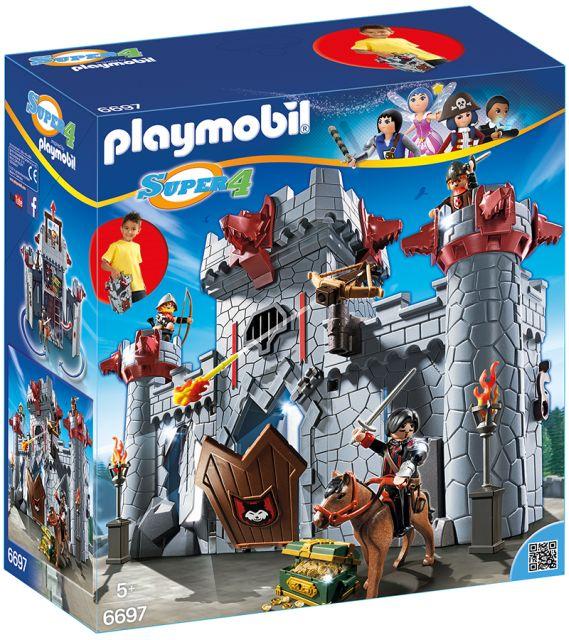 Playmobil-Castelul baronului negru,set mobil
