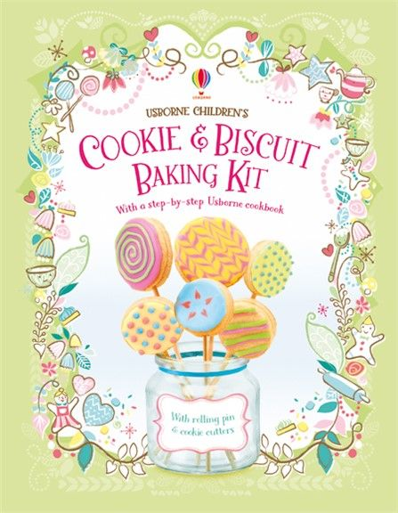 COOKIE & BISCUIT BAKING KIT