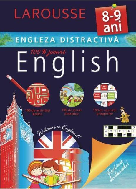 ENGLEZA DISTRACTIVA 8-9 ANI
