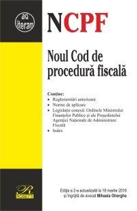 NOUL COD DE PROCEDURA FISCALA - EDITIA A 2-A (2016-03-18)