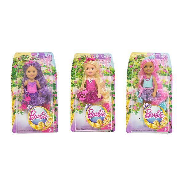 Papusa Barbie,Chelsea cu par lung