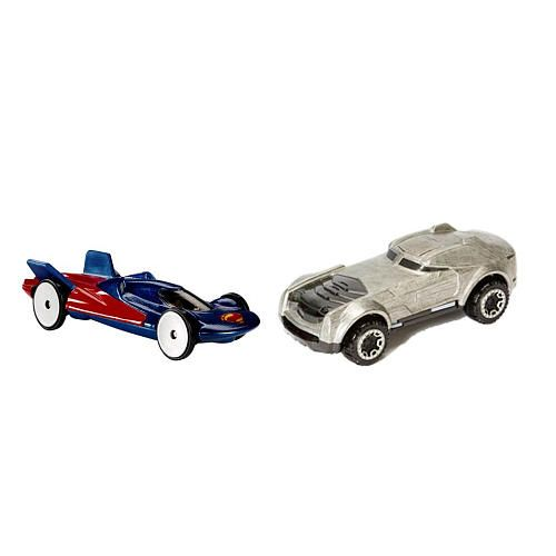 Masinuta Hot Wheels,batman vs superman,2buc/set