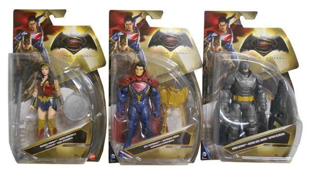 Figurina batman vs superman,15 cm, div.mod