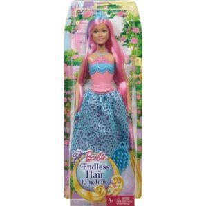 Papusa Barbie,regatul parului fara sfarsit
