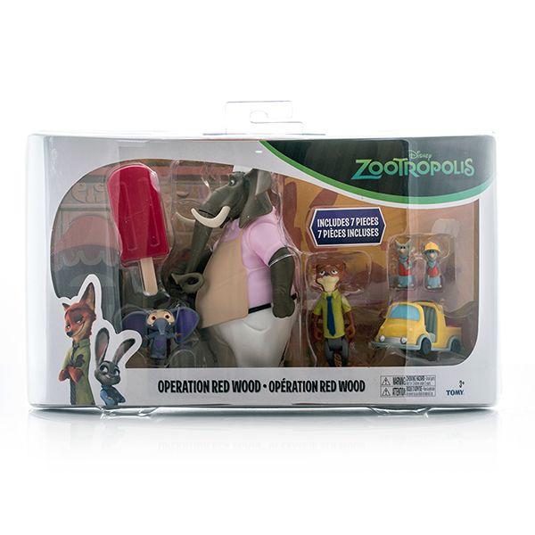 Figurina Zootropolis,set joaca,7 pcs