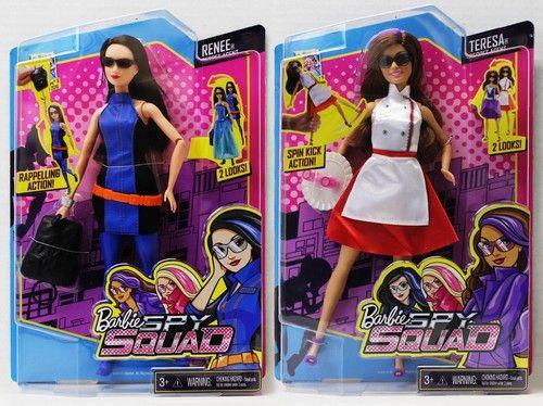 Papusa Barbie,echipa de spioni,agent secret,Renne/Teres
