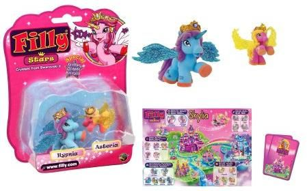 Figurina Filly Star glitter,family,set
