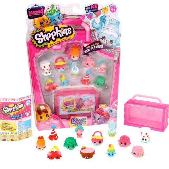 Figurina Shopkins,S4,12buc/set