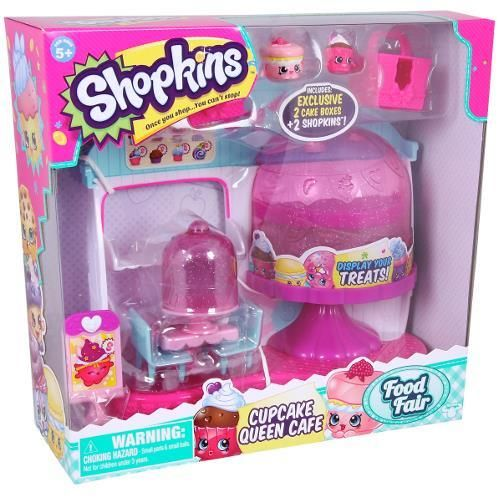Figurina Shopkins,S4,cup cake cafe,set