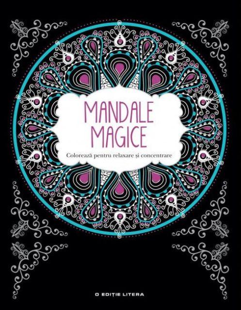 MANDALE MAGICE. CARTE DE COLORAT