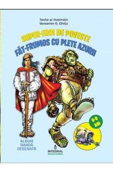 FAT-FRUMOS CU PLETE AZURII - benzi desenate