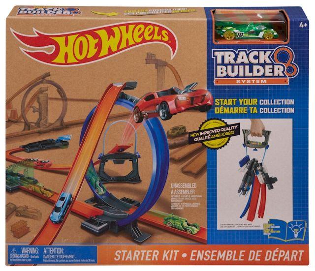 Constructie pista de baza,Tack Builder,Hot Wheels