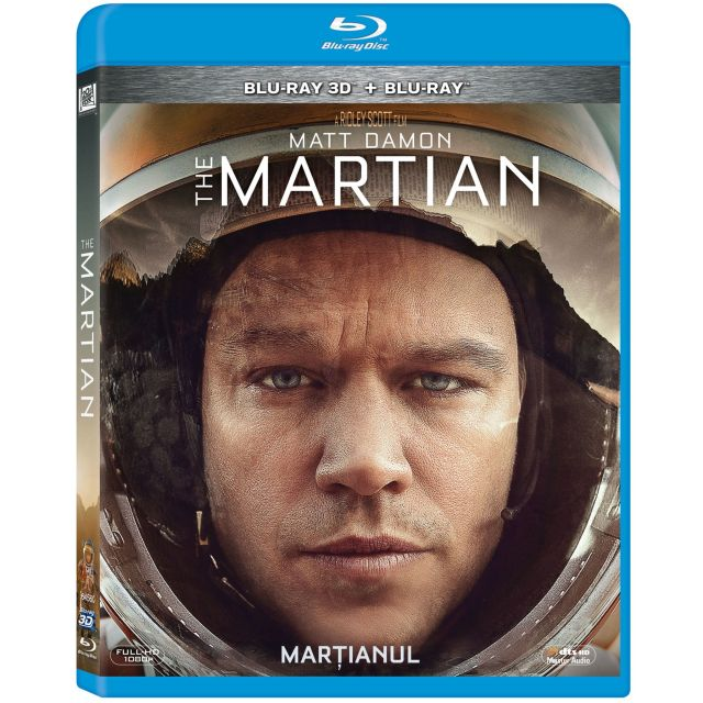 BD: MARTIAN, THE Combo (3D+2D)