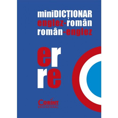 MINIDICTIONAR ENGLEZ-ROMAN...