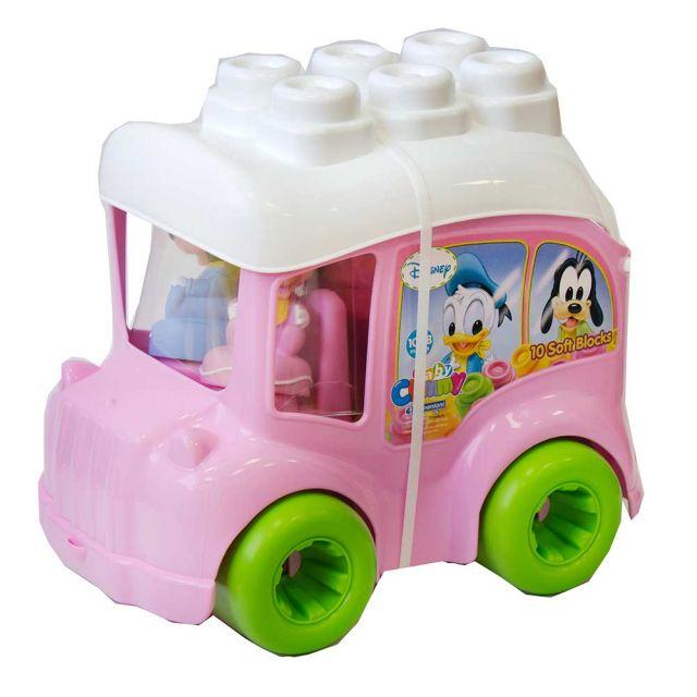 Autobuz Minnie cu cuburi,Clemmy