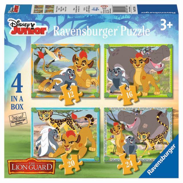 Puzzle Garda felina,12/16/20/24pcs,cutie