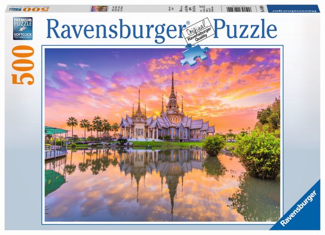 Puzzle apus de soare, 500 piese