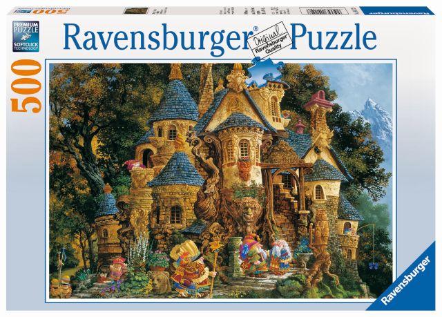 Puzzle colegiul magic, 500 piese