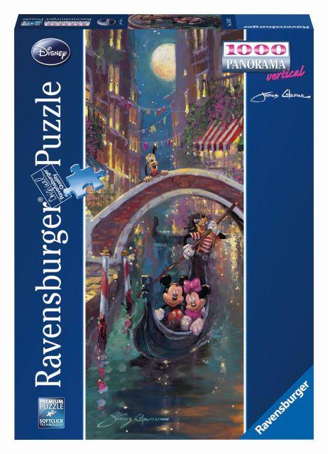 Puzzle romantism in venetia, 1000 piese
