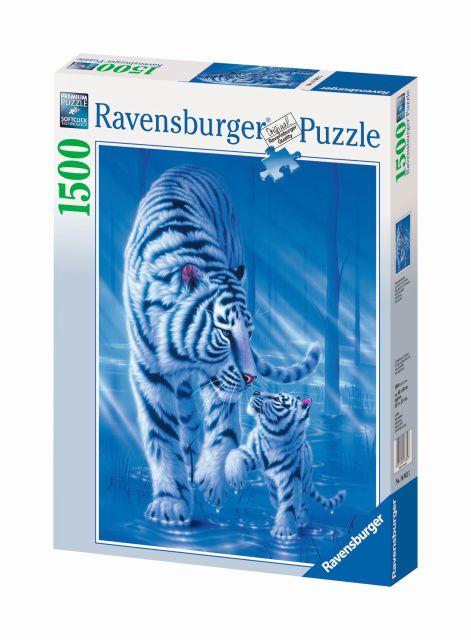 Puzzle tigri, 1500 piese