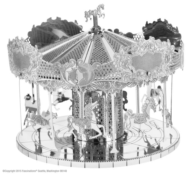 Carusel (Merry go Round), Metal Earth