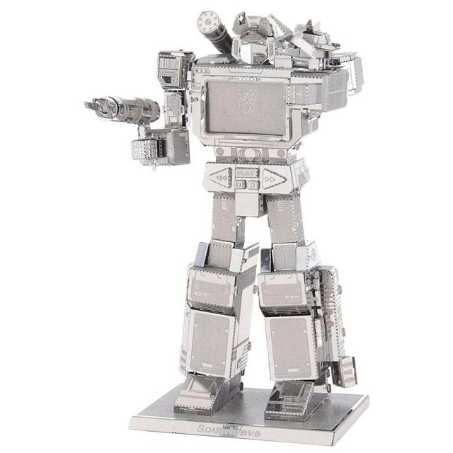 Transformers Soundwave, Metal Earth