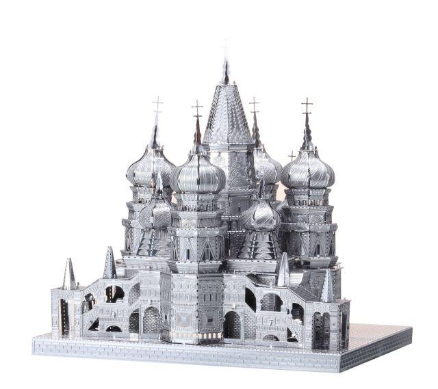 ICONX - Catedrala Sf. Vasile (Moscova), Metal Earth