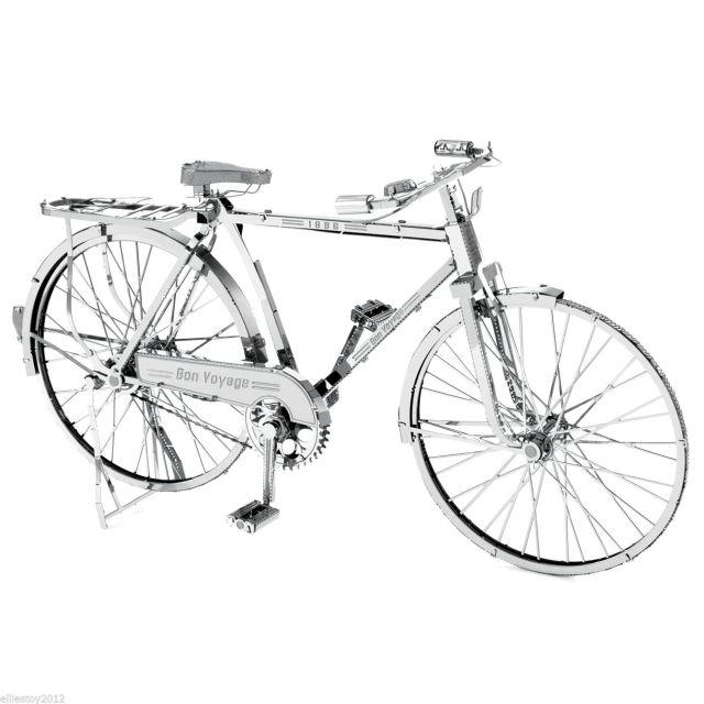ICONX - Bicicleta clasica, Metal Earth