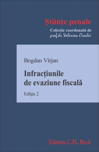 INFRACTIUNILE DE EVAZIUNE FISCALA ED 2