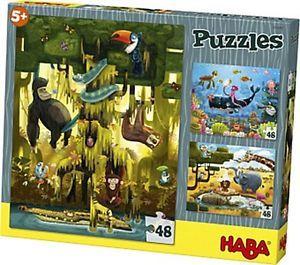 Puzzle,Animalele lumii,Haba