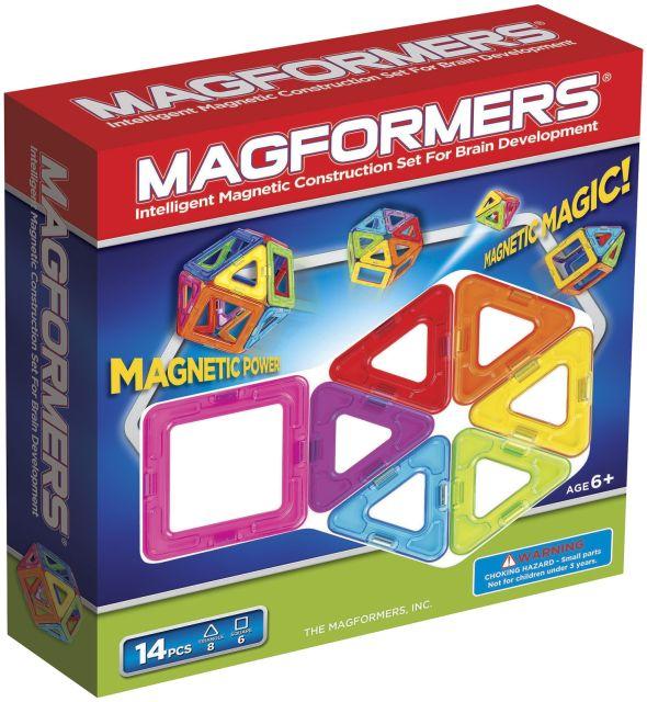 Magformers,set constructie,magnetic,14pcs,standard