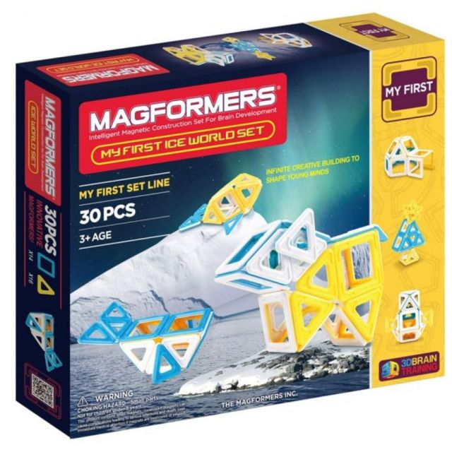 Magformers,set constructie,magnetic,30pcs,my first,lumea polara