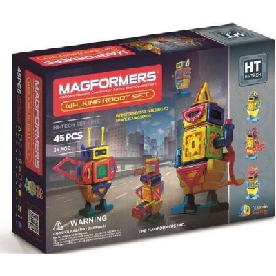 Magformers,set constructie,magnetic,45pcs,Hi-Tech,roboti