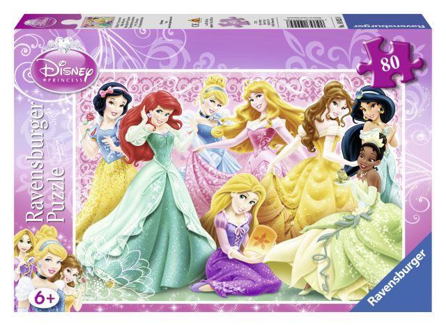 Puzzle Printesele Disney,80pcs