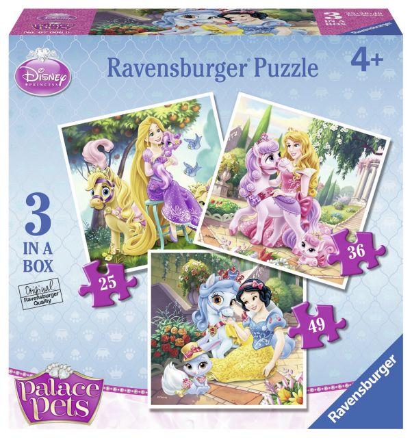 Puzzle Palace Pets,25/36/49pcs