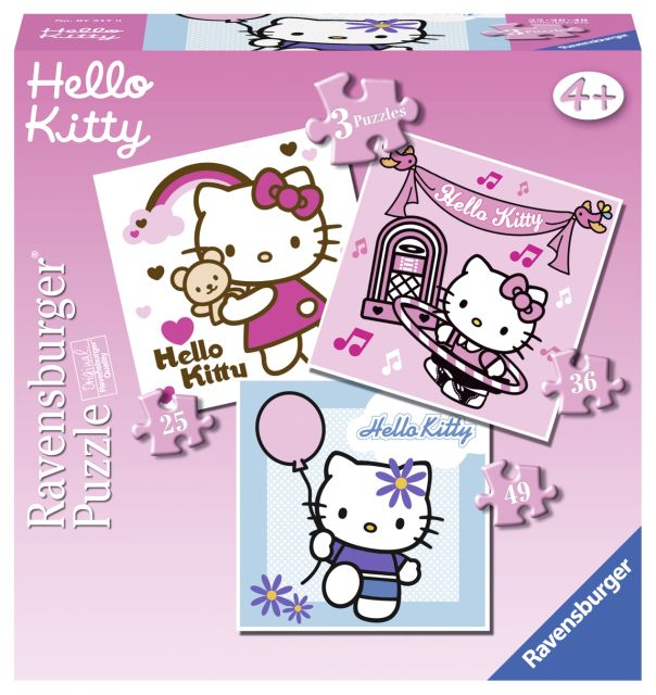 Puzzle Hello Kitty,25/36/49pcs