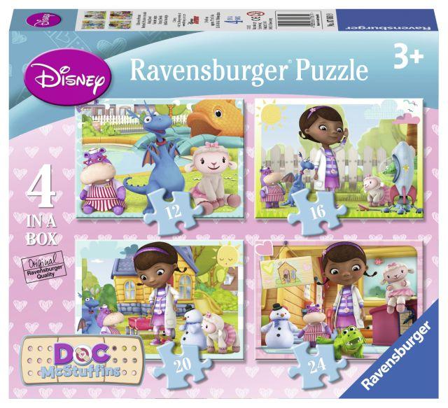 Puzzle Doctorita Plusica,12/16/20/24pcs